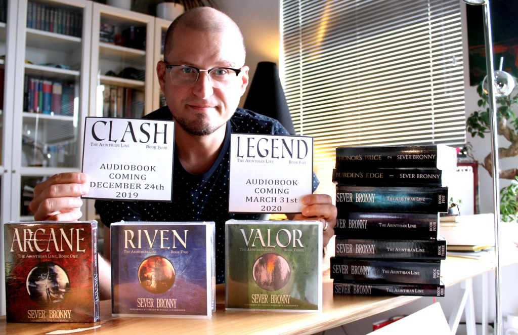 fantasy audiobook series